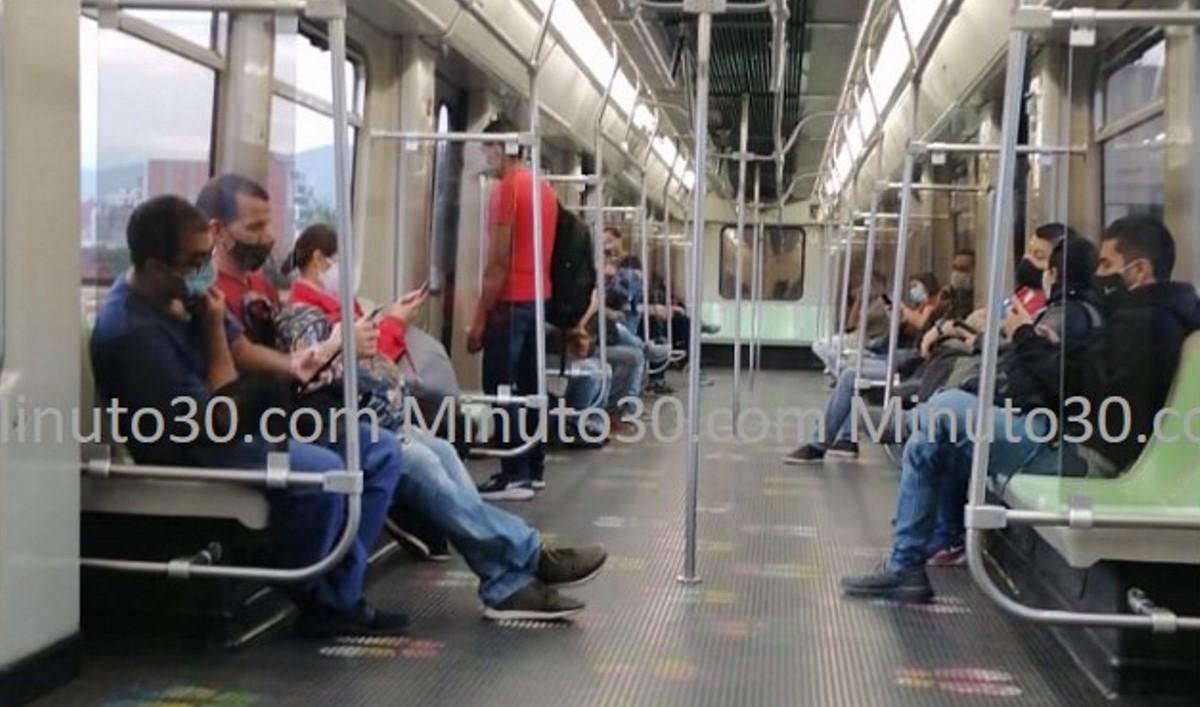 Normalizada la operación entre las estaciones San Antonio y San Javier del Metro
