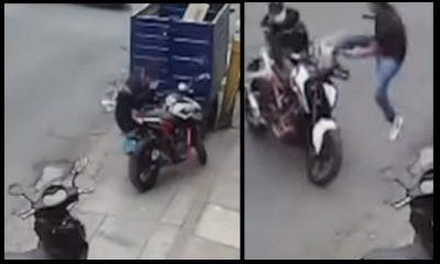 moto ladron para voladora