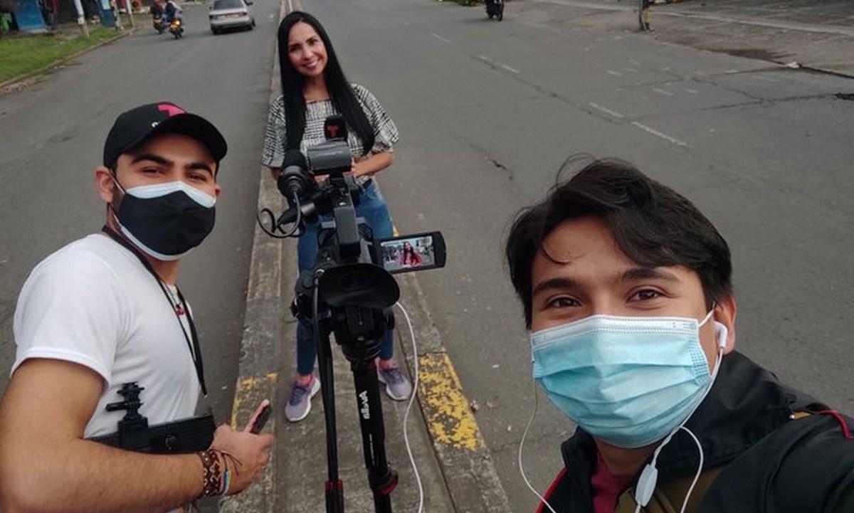 periodista de Telemundo