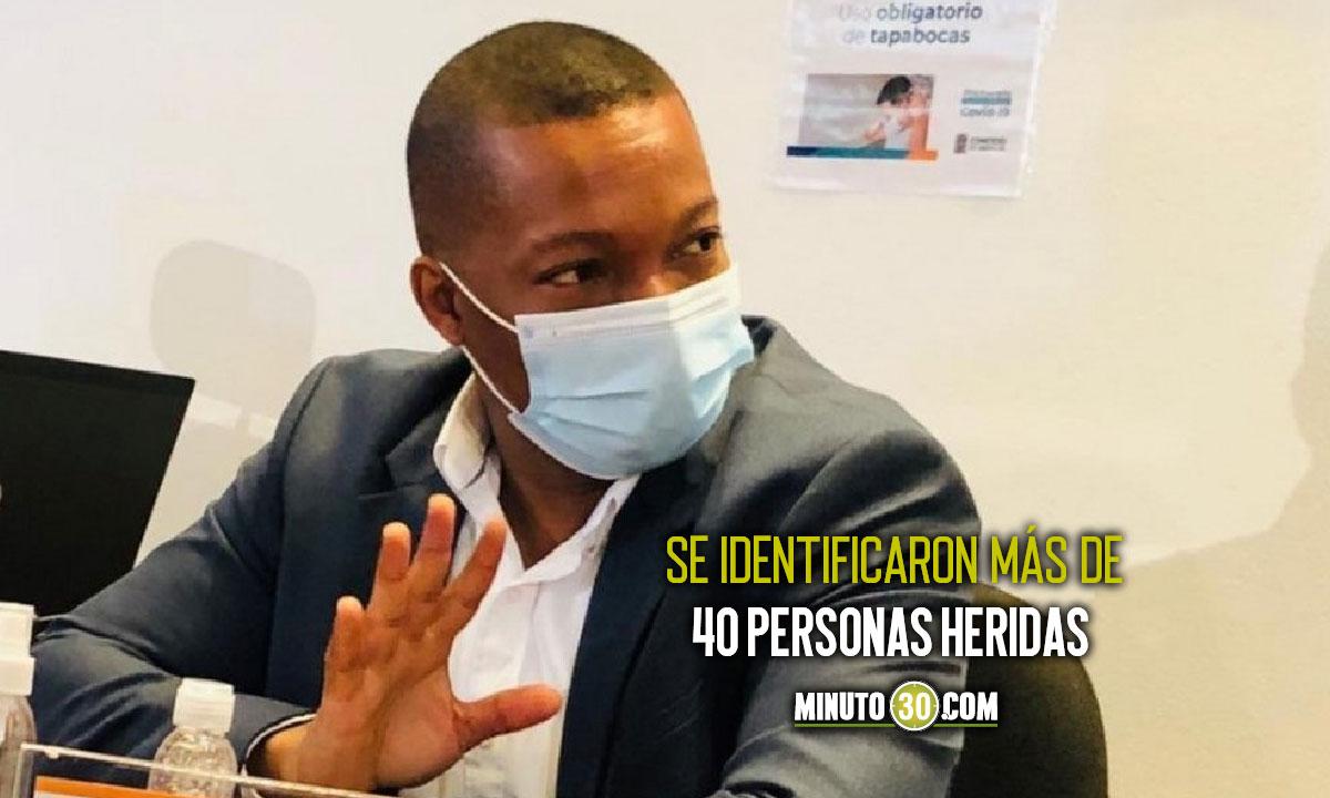 Personero de Medellín presenta balance de las manifestaciones de ayer