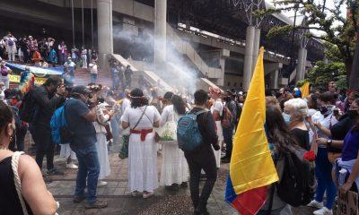 Personería acompaña actos simbólicos en el Parque Berrío