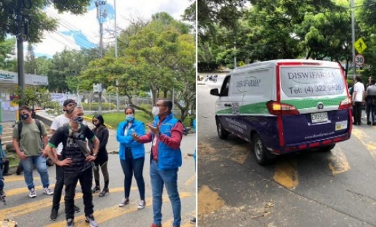 Personería medió para que manifestantes dieran paso a pacientes en Clínica Cardio VID