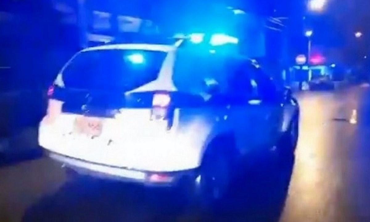 policia fuga. presos