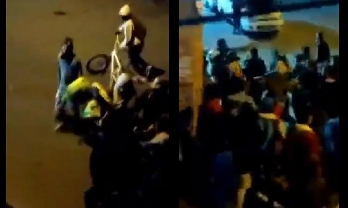 policias atacado bogota