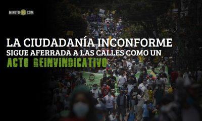 marcha calles paro nacional