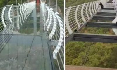 puente vidrio china