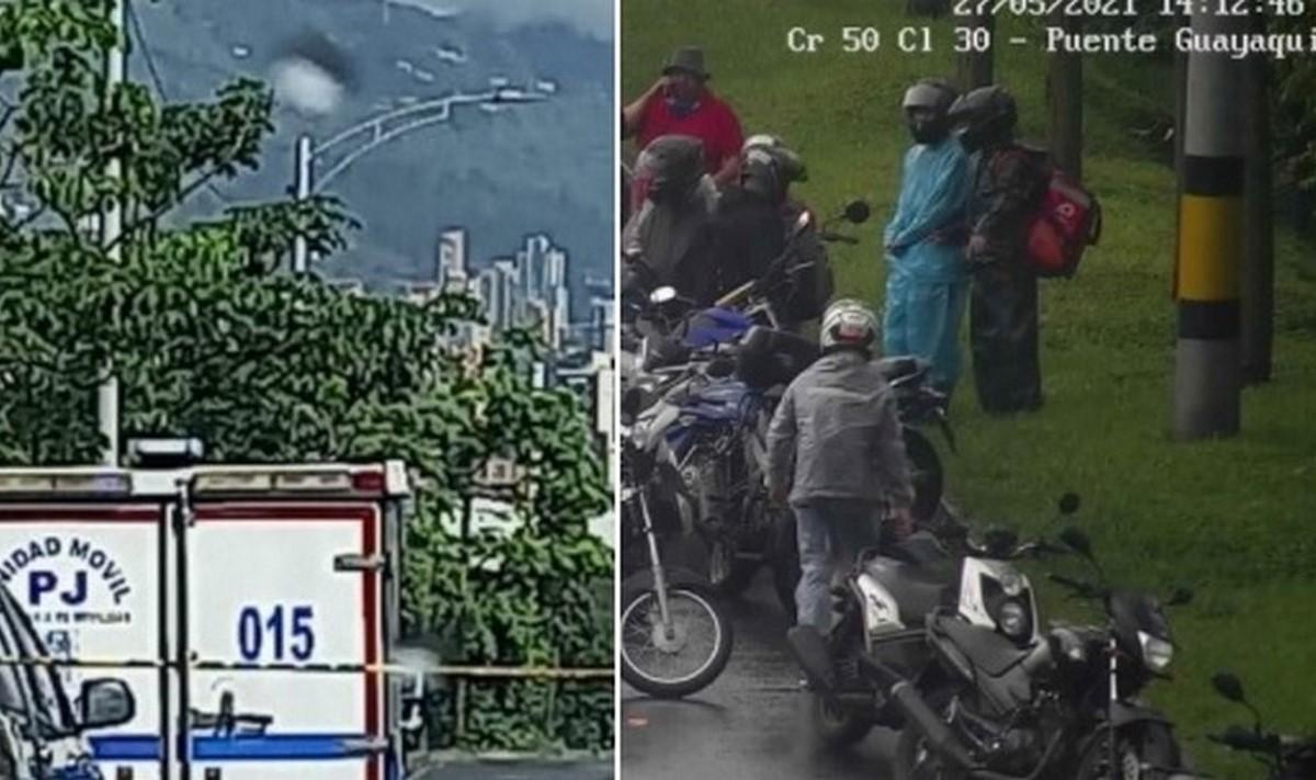 Accidente de tránsito a la altura del puente Guayaquil dejó una persona muerta
