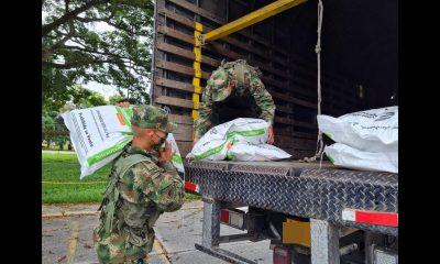Bienestarina represada por bloqueos ya está siendo movilizada por el ICBF y el Ejército