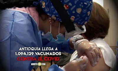 El 81.39% del talento humano en salud de Antioquia han recibido la primera dosis de la vacuna contra el Covid