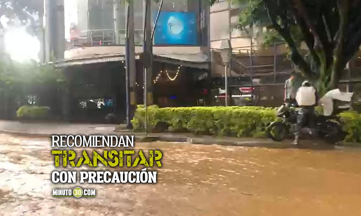 [Video] ¡Pilas! Por inundación hay movilidad reducida en estos sectores de la ciudad