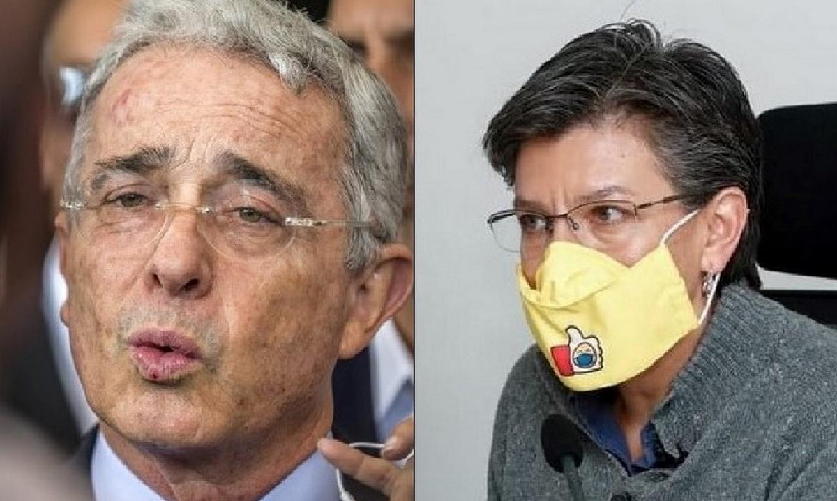 Uribe le deseó pronta recuperación a Claudia López