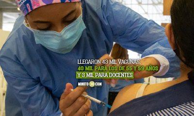 Medellín inicia el agendamiento para vacunar a personas entre los 55 y 59 años