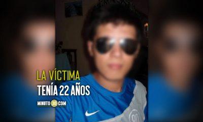 Asesinaron a bala a un joven en El Peñol, Antioquia