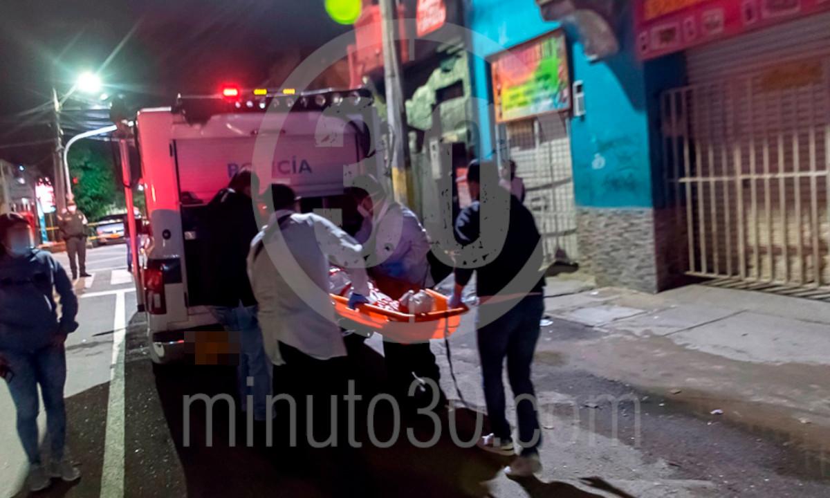 Esta madrugada mataron a un hombre en 'La Calle de los Locos' de Medellín