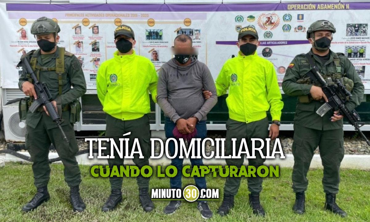 A la cárcel el presunto entrenador de reclutas del 'Clan del Golfo' en Urabá y Córdoba