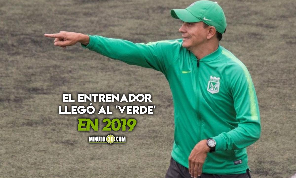 Alejandro Restrepo con estudios que lo avalan para ser el DT de Atletico Nacional