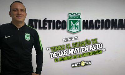 Alejandro Restrepo siente que tiene las condiciones para dirigir a Nacional