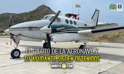 avioneta-extinción de dominio-esposo-Alejandra Azcarate