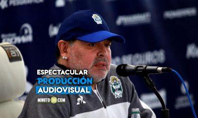 Asi fue el homenaje a Diego Armando Maradona en la Copa America