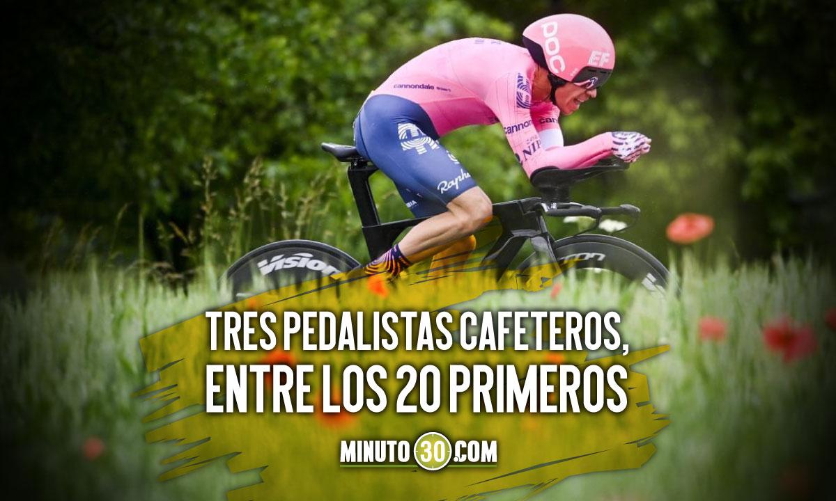 Asi quedaron los colombianos en la general del Tour tras la contrarreloj