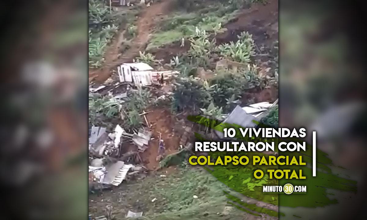 Así se ve HOY el deslizamiento en la Comuna 8 de Medellín