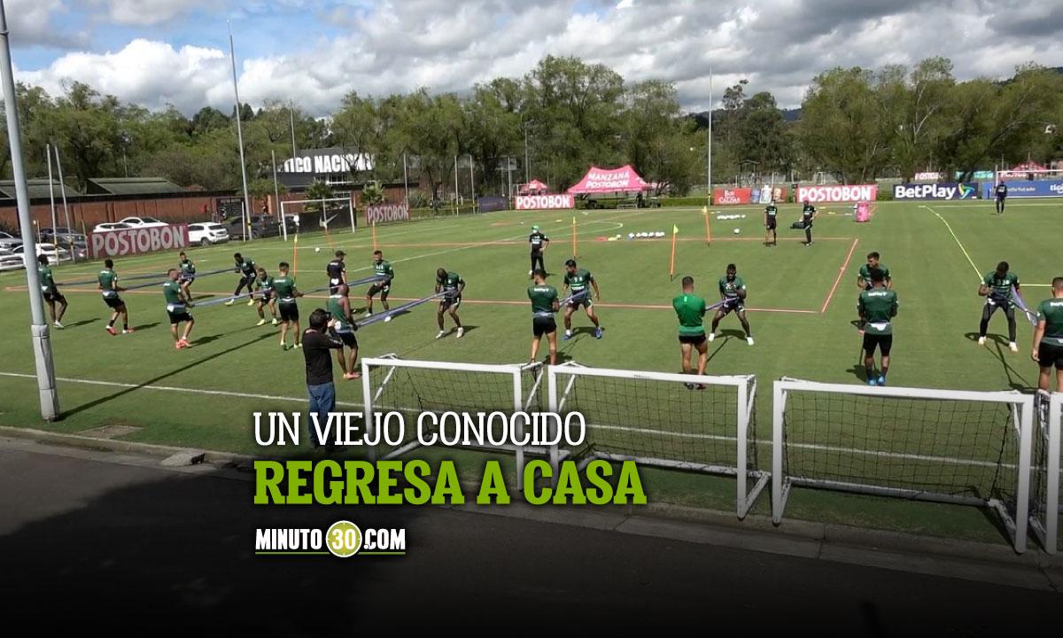 Atletico Nacional confirmo su primera contratacion