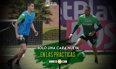 Atletico Nacional continua su preparacion de cara a la competencia