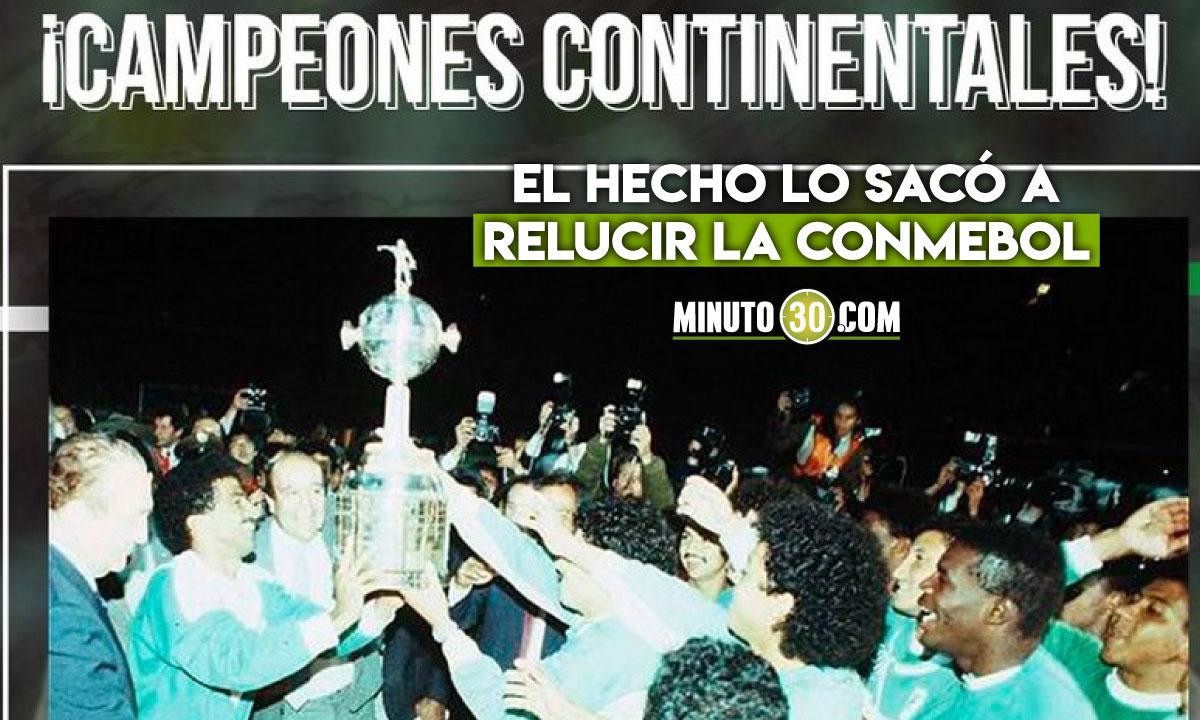 Atletico Nacional el equipo mas joven en ganar la Copa Libertadores
