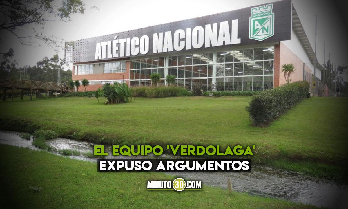 Atletico Nacional emitio nuevo comunicado en litigio con Cortulua