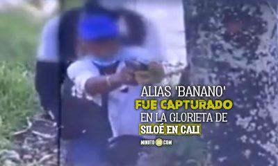 Capturaron a alias 'Banano' en Cali