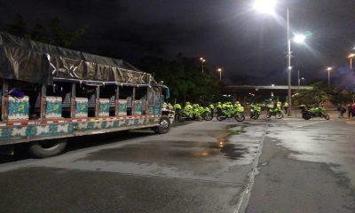 Bogotá-policía-Minga Indígena