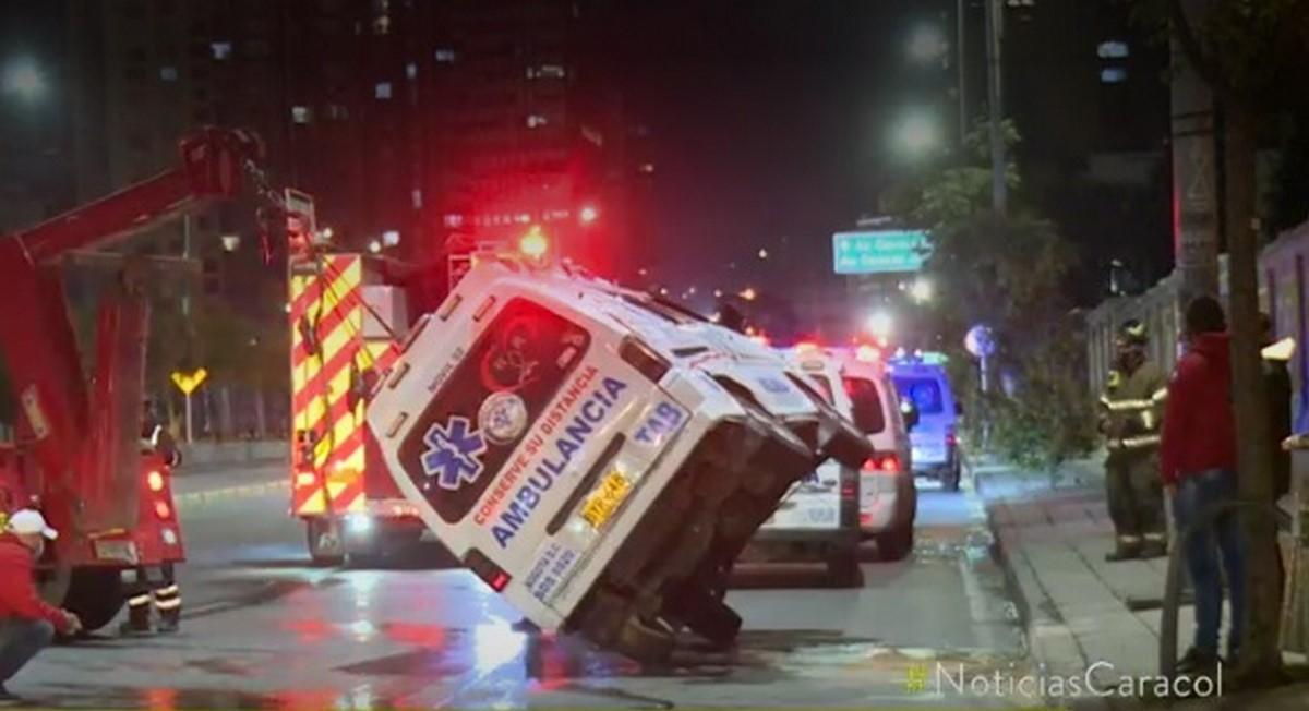 Bus del SITP 3 accidente bogota