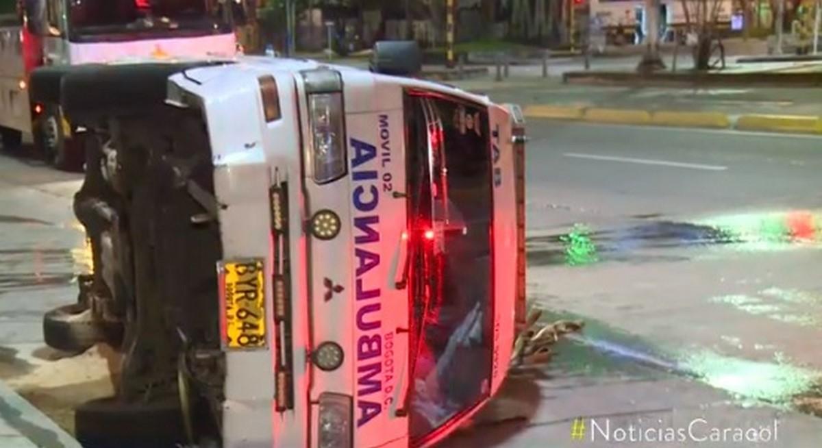 Bus del SITP 4 accidente bogota
