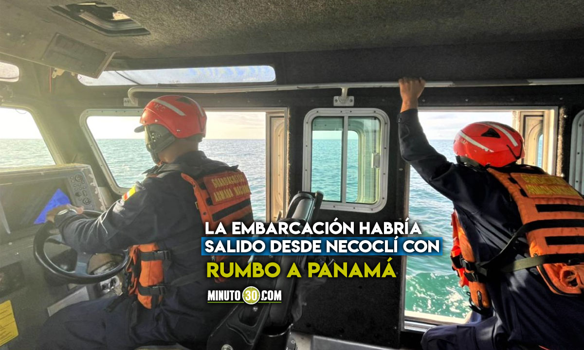 Buscan a migrantes que naufragaron en aguas del Golfo de Urabá