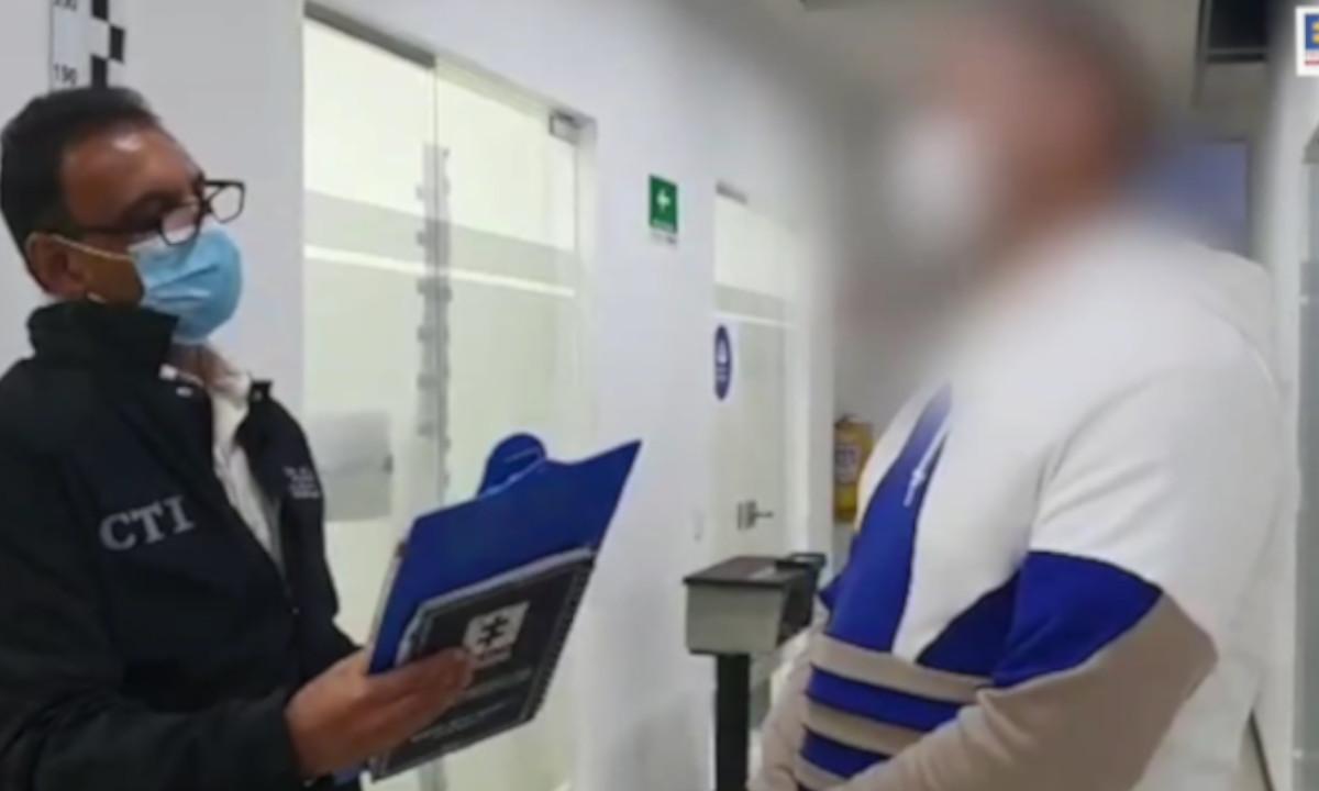[Video] Capturaron a un mayor de la Policía por la muerte de Santiago Murillo