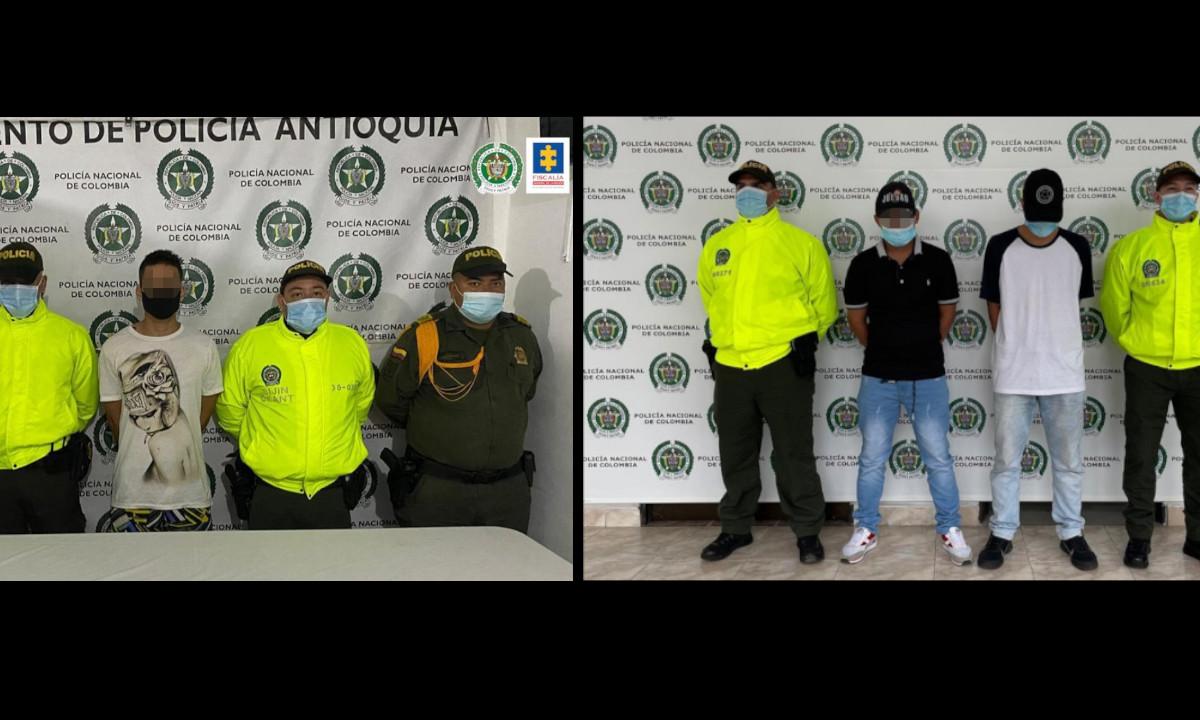 Encarcelaron a dos presuntos asesinos de 9 personas en Antioquia