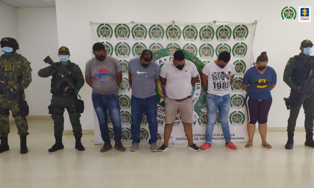Capturaron a 16 presuntos integrantes de las disidencias de las Farc en la frontera con Venezuela
