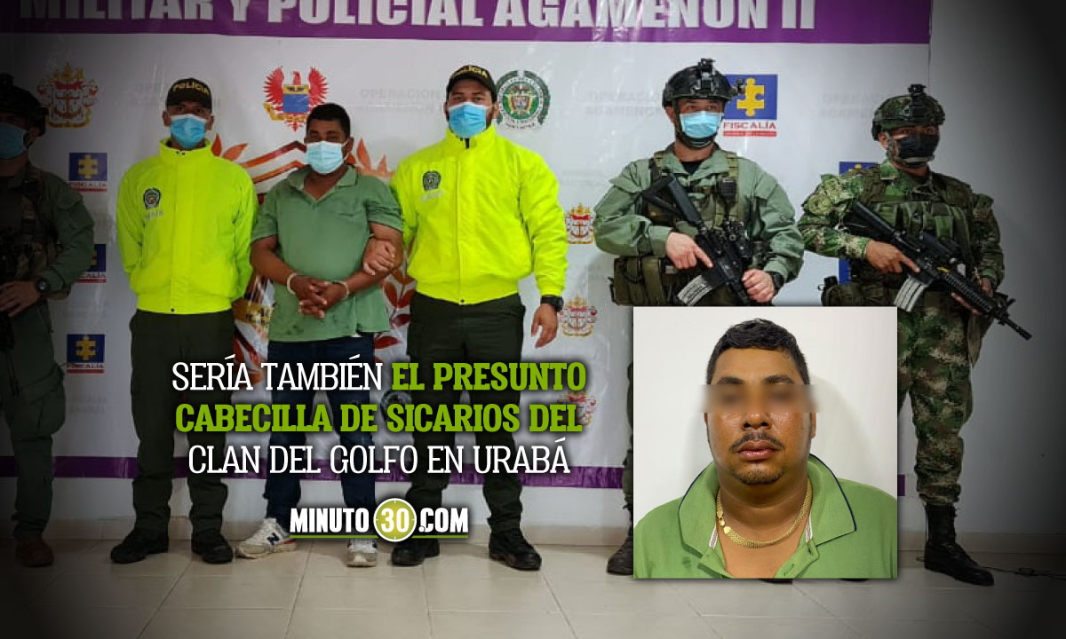 Capturaron a sujeto que supuestamente lanzó cilindros bomba a base de la Policía en Necoclí