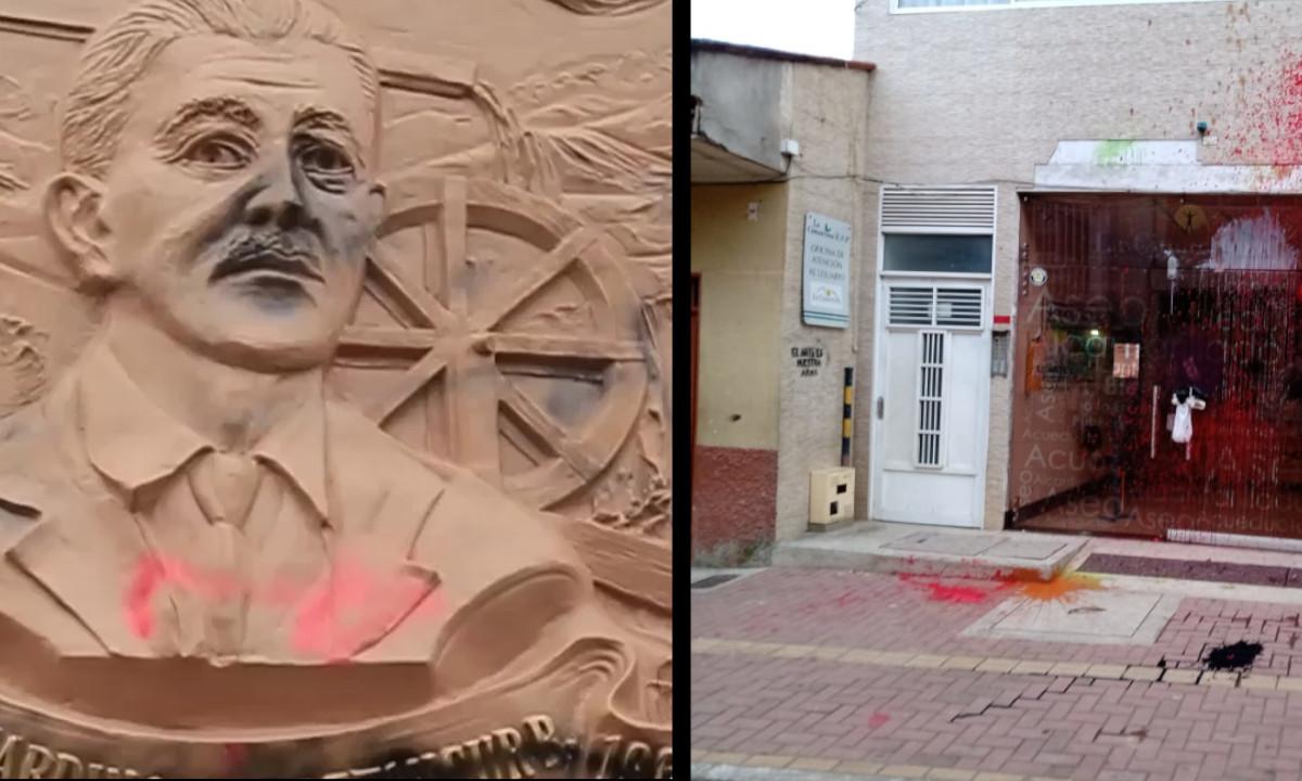 [Video] ¡Ni el cementerio se salvó! Vea como vandalizaron algunos espacios en El Carmen de Viboral