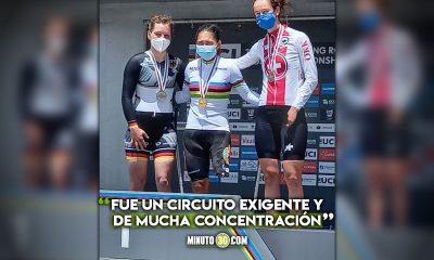 Carolina Munevar campeona mundial de Para cycling