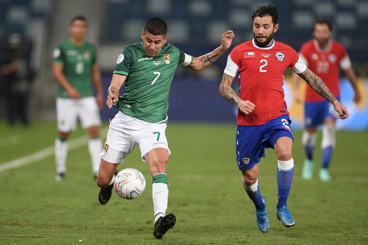 Chile vs Bolivia 4