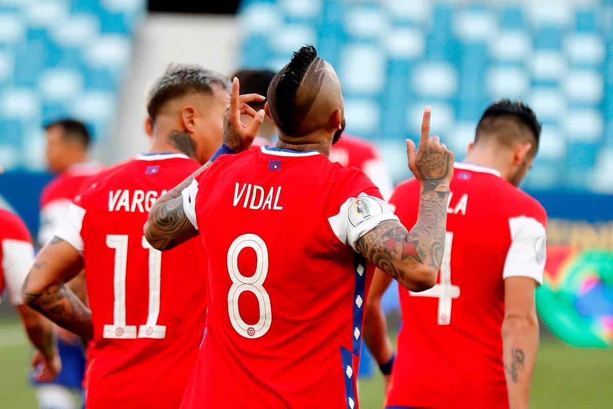 Chile vs Bolivia 7