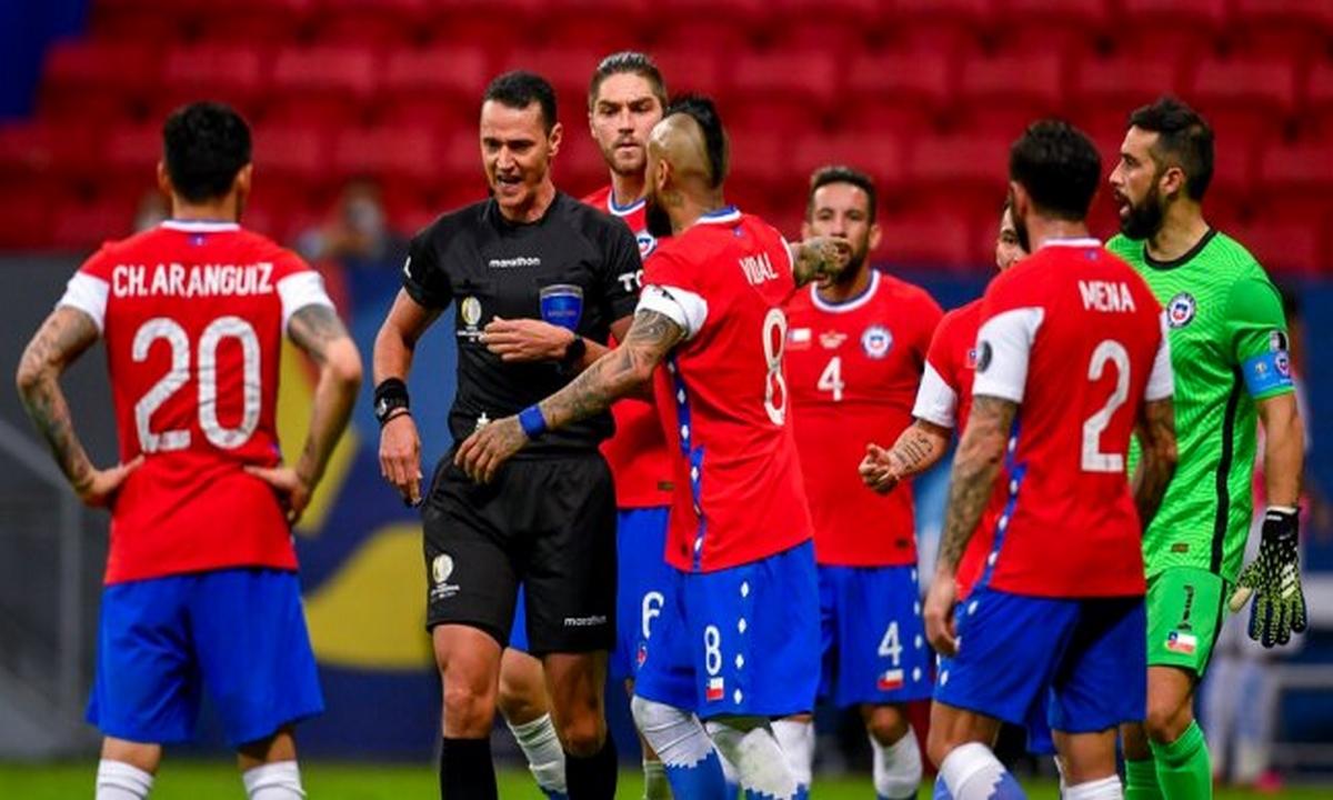 Chile-suspensión-árbitro-Wilmar Roldán