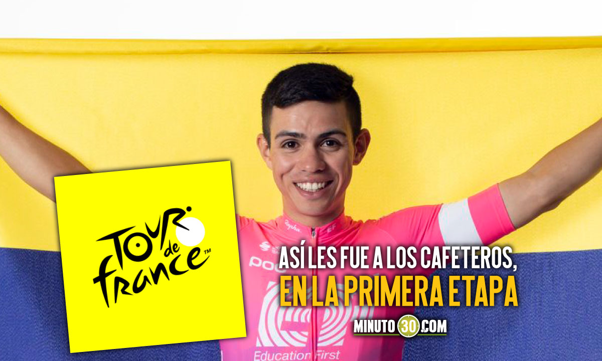 Ciclistas colombianos con un sabor agridulce tras inicio del Tour de Francia