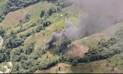 Destruyeron 8 laboratorios de coca en el Chocó