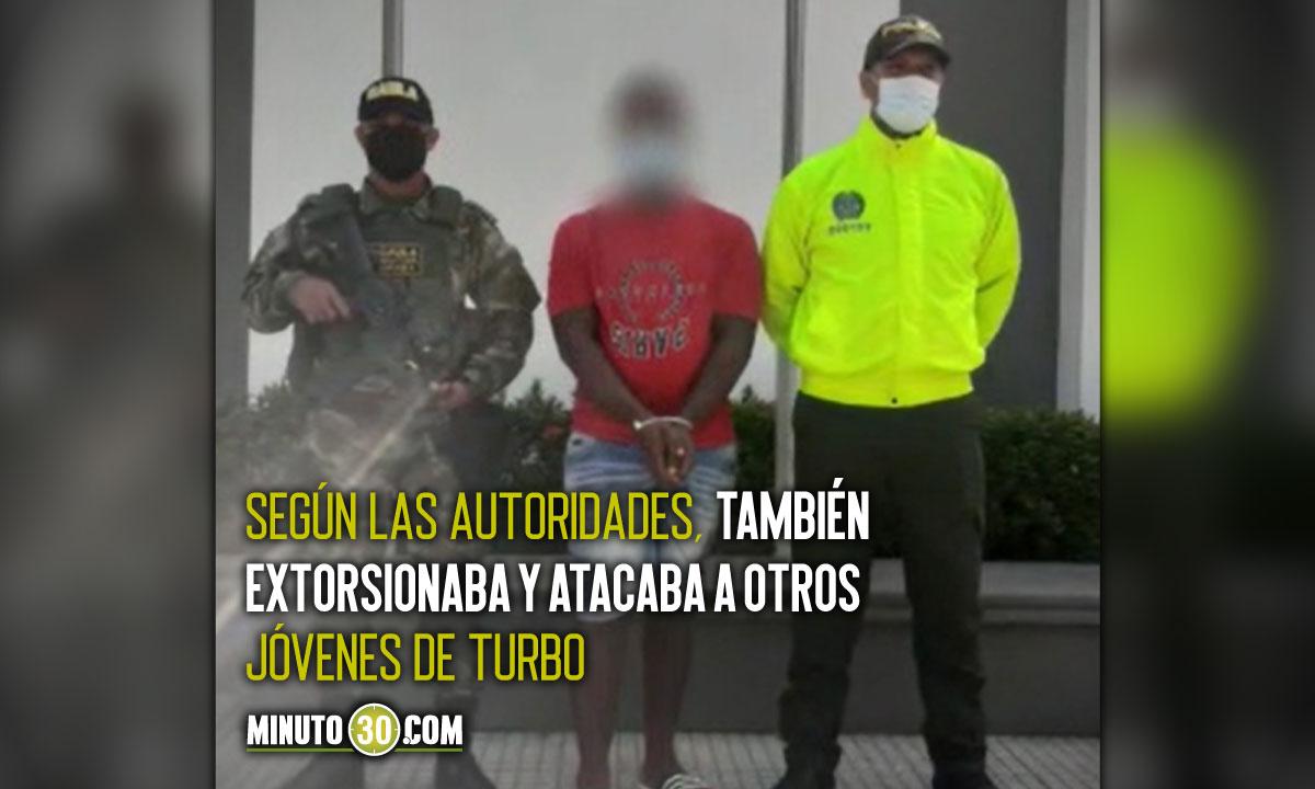 """[Video] Cogieron al """"Loco Negro"""", uno de los más buscados por hurto en Urabá"""