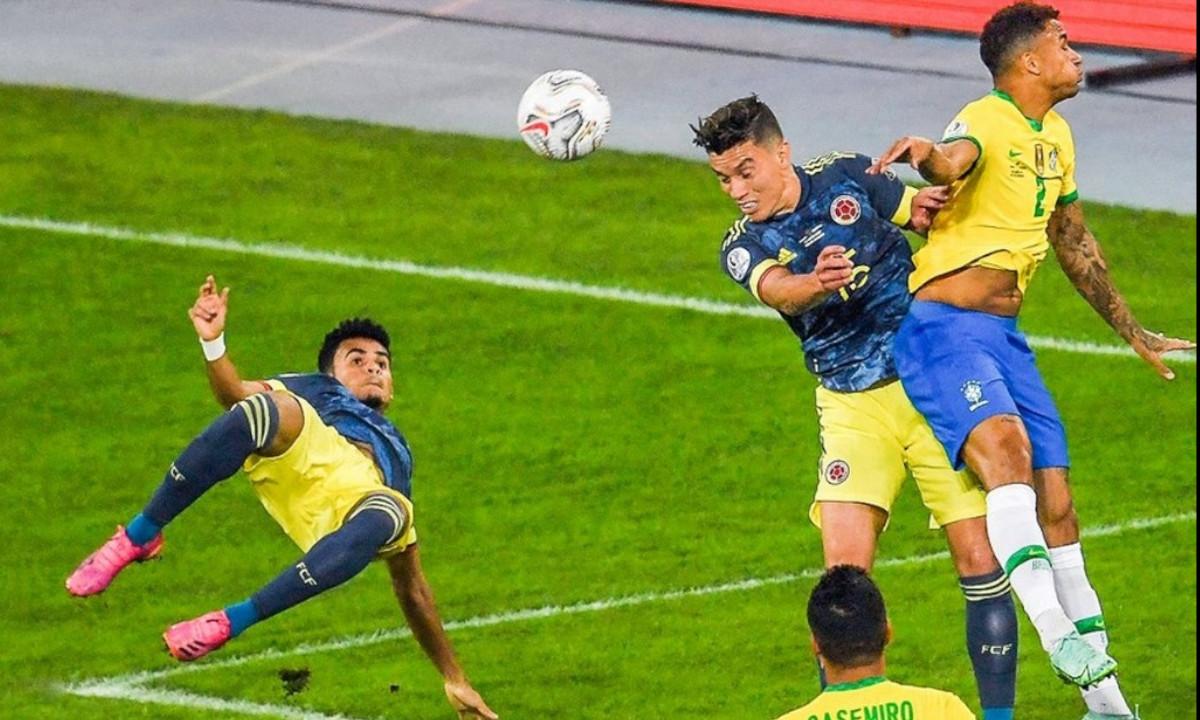 [Video] Reviva el golazo de Díaz que abrió el marcador a favor de Colombia