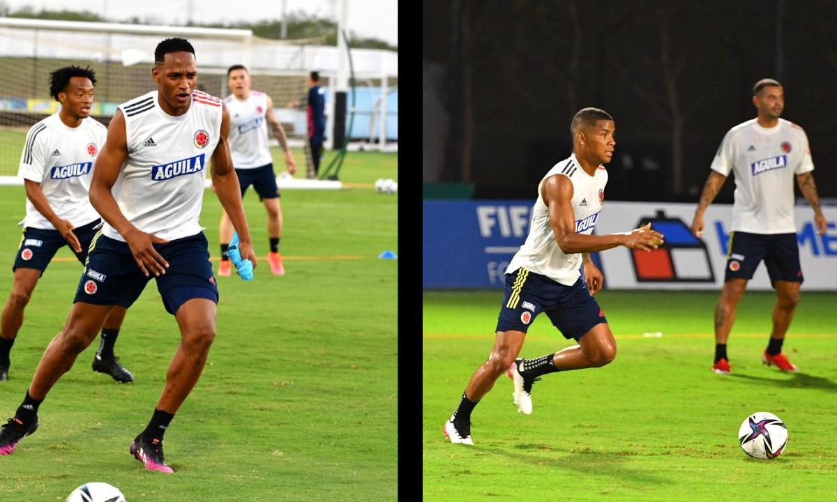 Así se prepara la Selección Colombia para enfrentar a Argentina