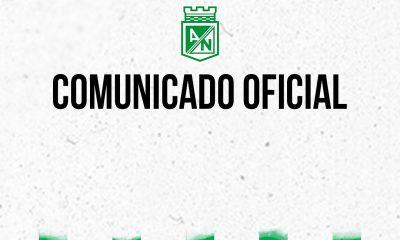 Comunicado Atletico Nacional