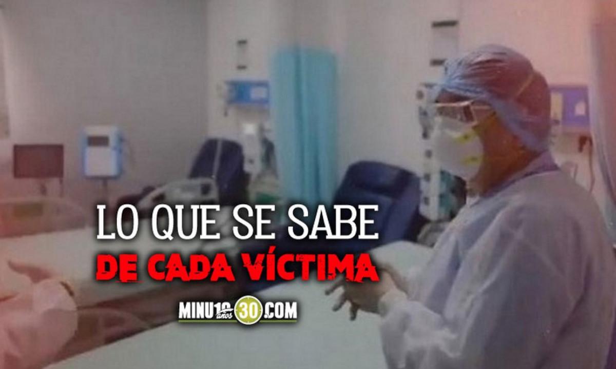 Confirman hoy la muerte de 599 personas por Covid en Colombia
